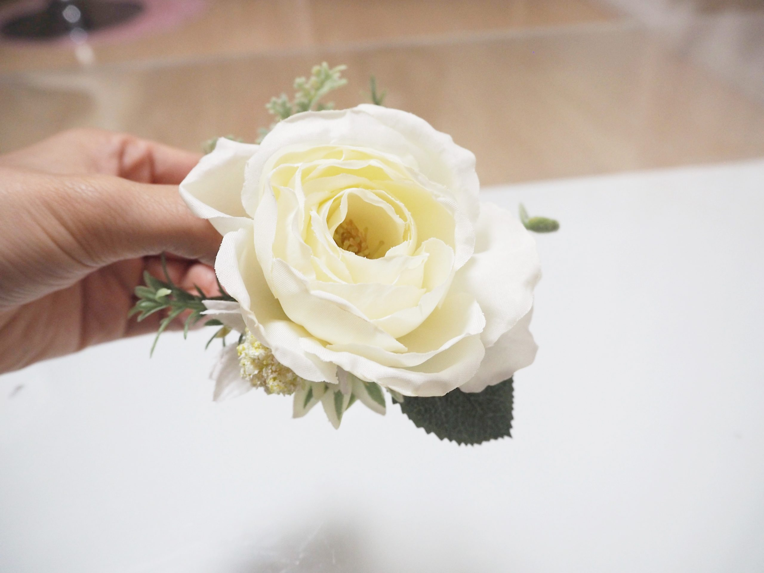 miroomフラワーアレンジメントのバラ