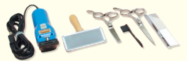 キャリカレトリマー道具