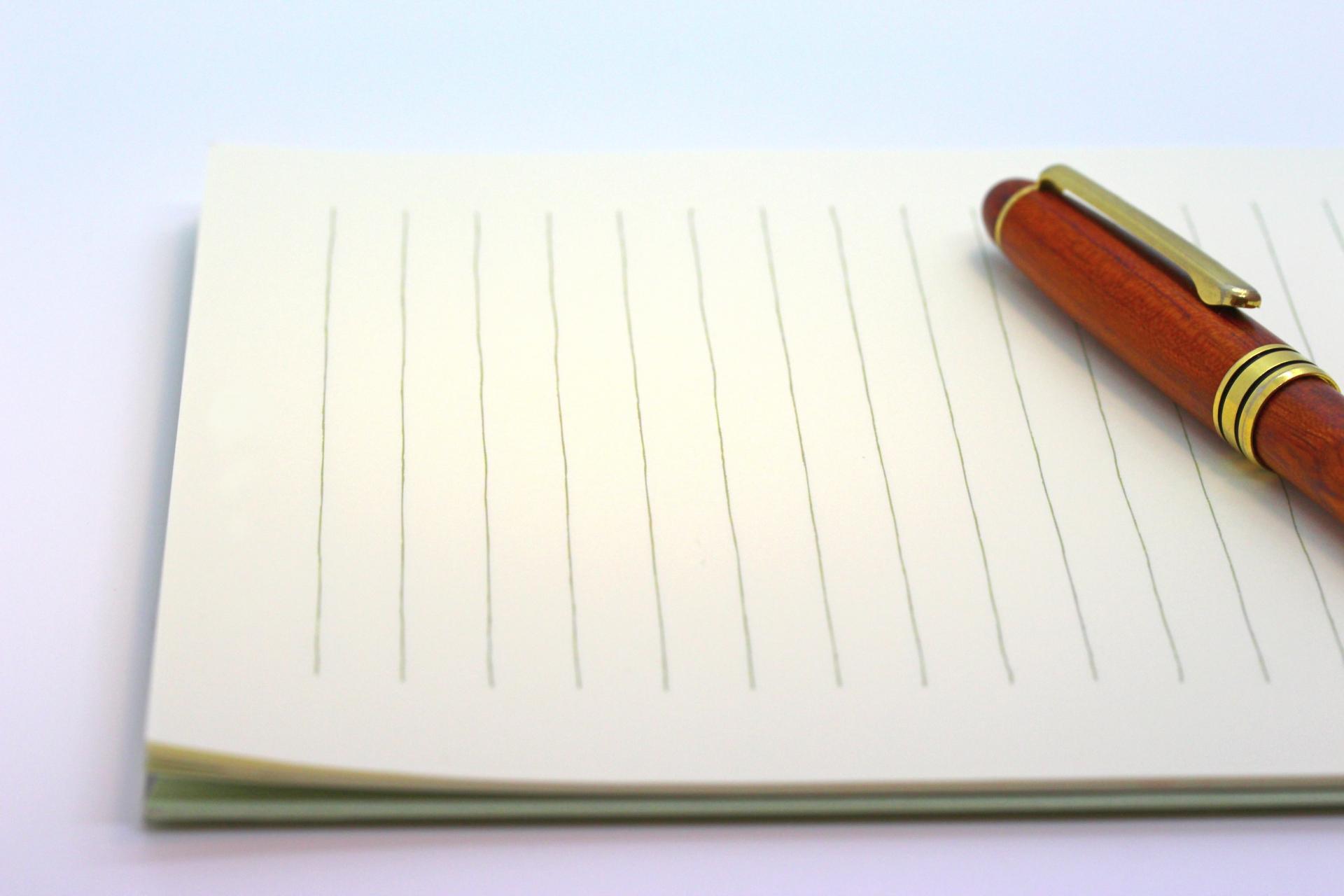 ペン字 通信講座の選び方
