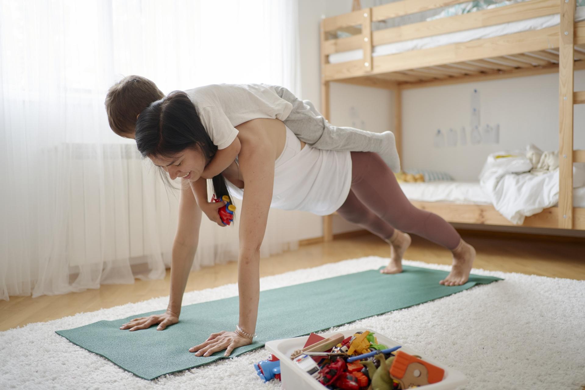 親子で運動